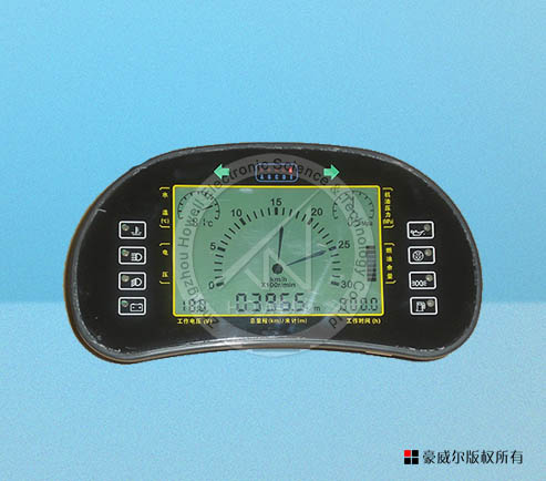 F26 LCD  intelligent combined meter for harvester